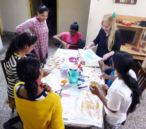 15 mixng paints with Vijali.2