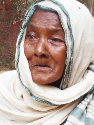 26 Mother of Basudeb protrait