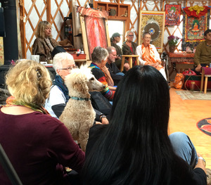 Shanti in Meditation cropped